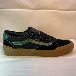 Vans Chima Pro 2 Ferguson Black Green Gum Bottom.